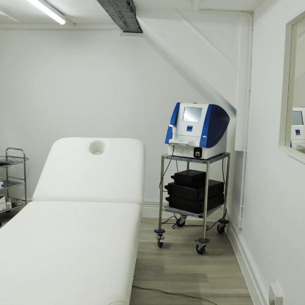 Nikki Butler Skin Clinic treatment room