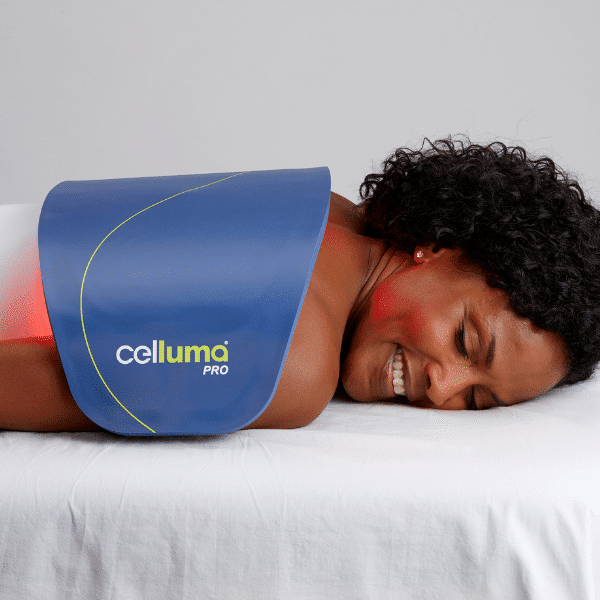 celluma LED light therapy treatment for pain in the back